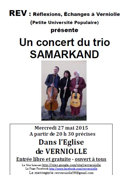 Trio SAMARKAND