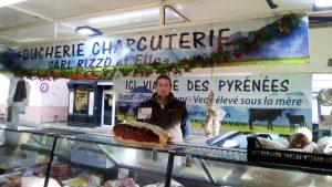 Le nouveau boucher du marché de Verniolle