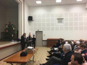 Voeux 2018 : récompense aux boxeurs du Ring Verniollais