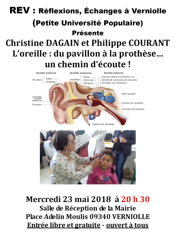 Conférence REV du 23 mai 2018