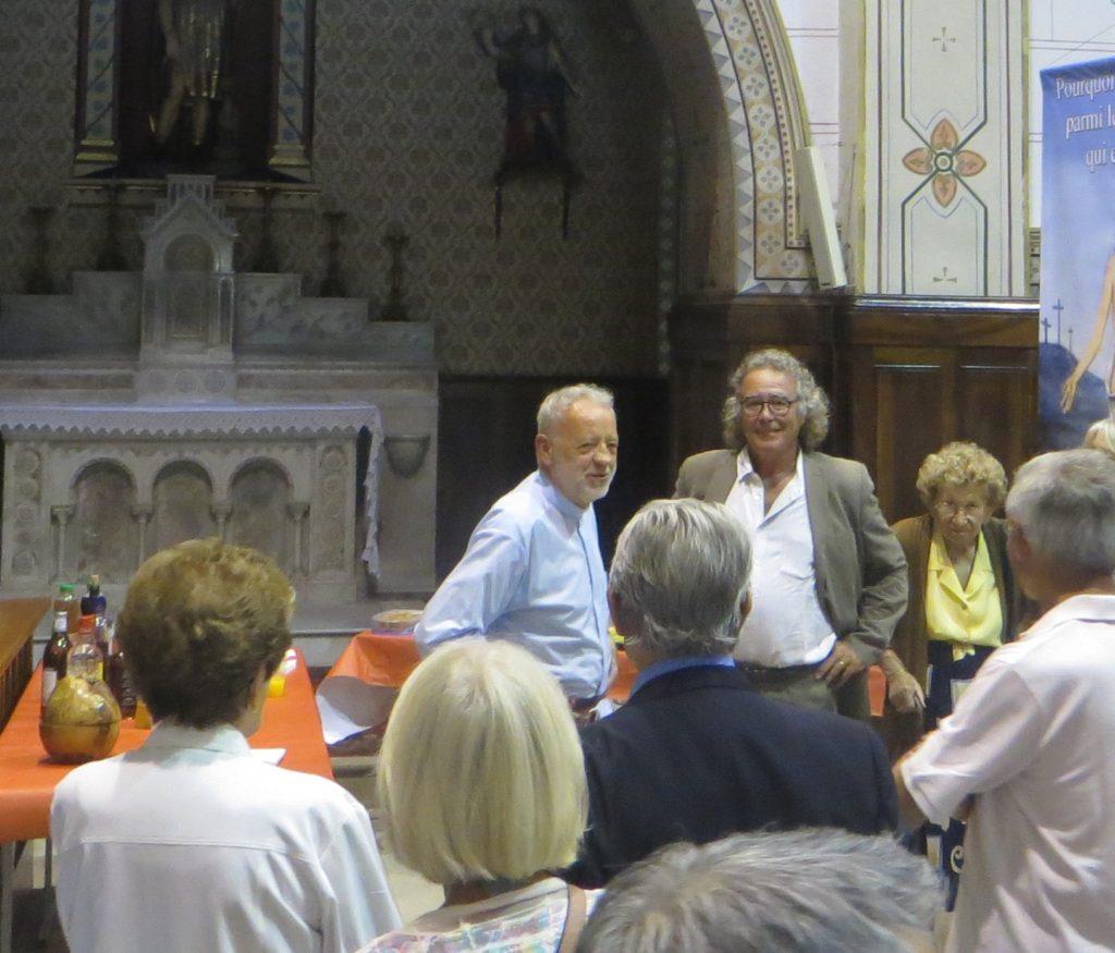 Inauguration de l'église