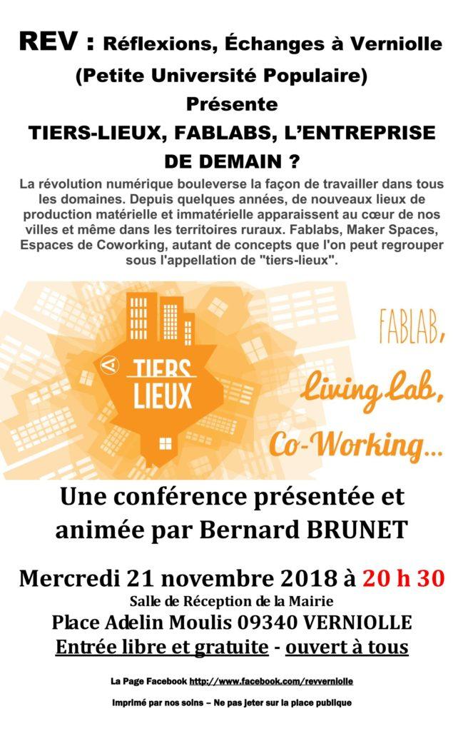 REV - Conférence de novembre 2018