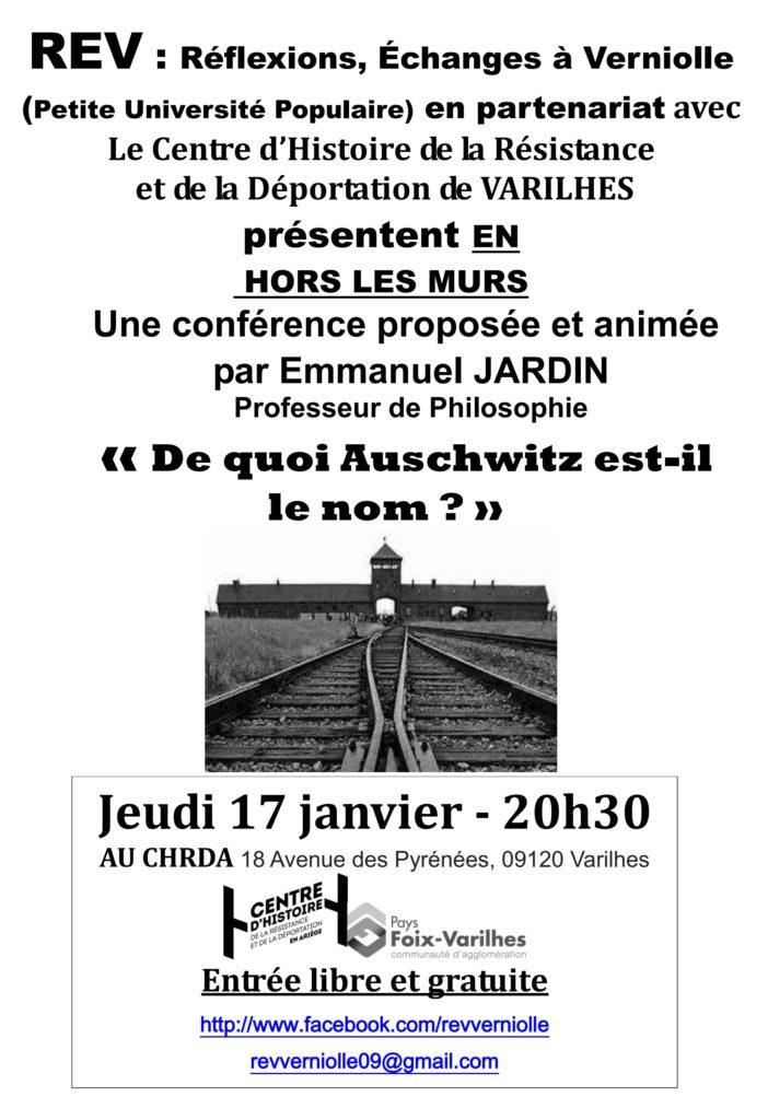 REV - Conférence janvier