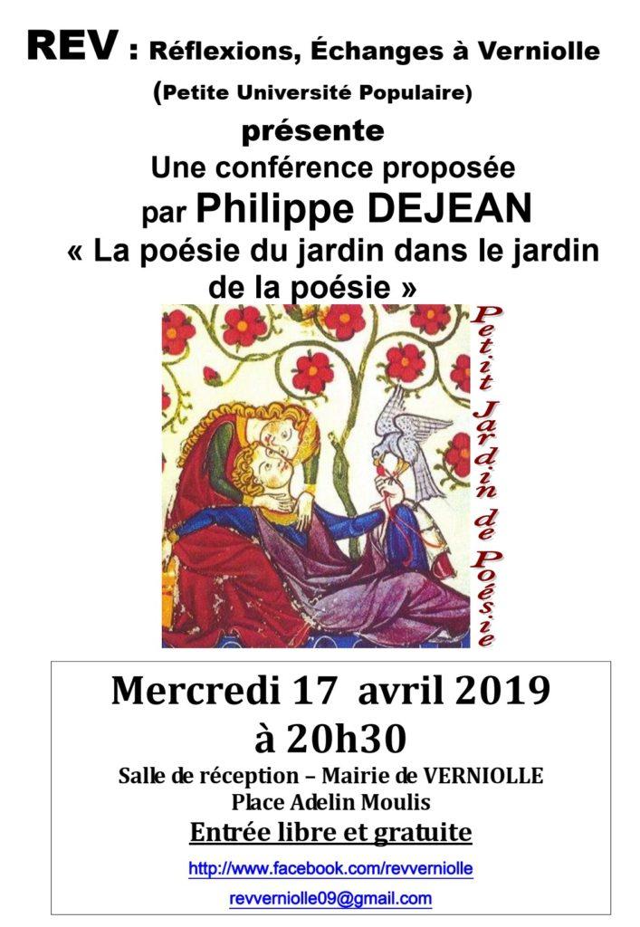 Rev- Conférence du 17 avril 2019
