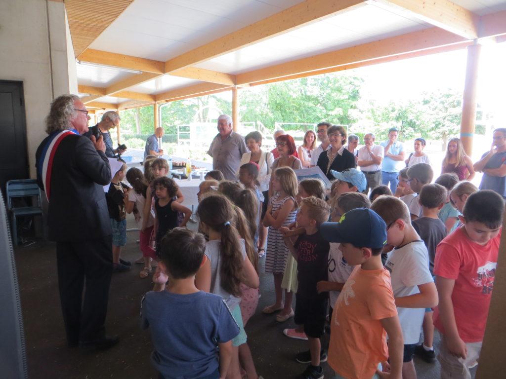 Inauguration des écoles