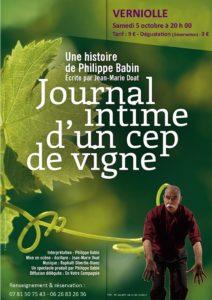 Journal intime d'un cep de vigne