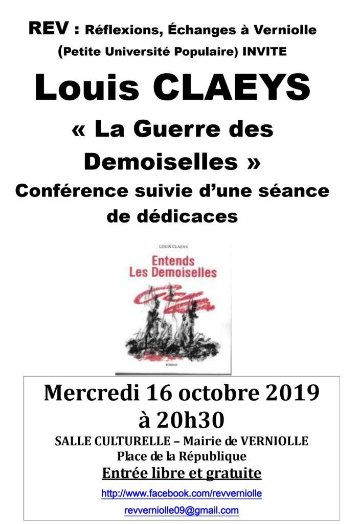 Rev - Conférence octobre 2019