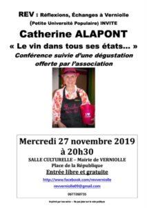 Rev - conférence du 27 novembre 2019
