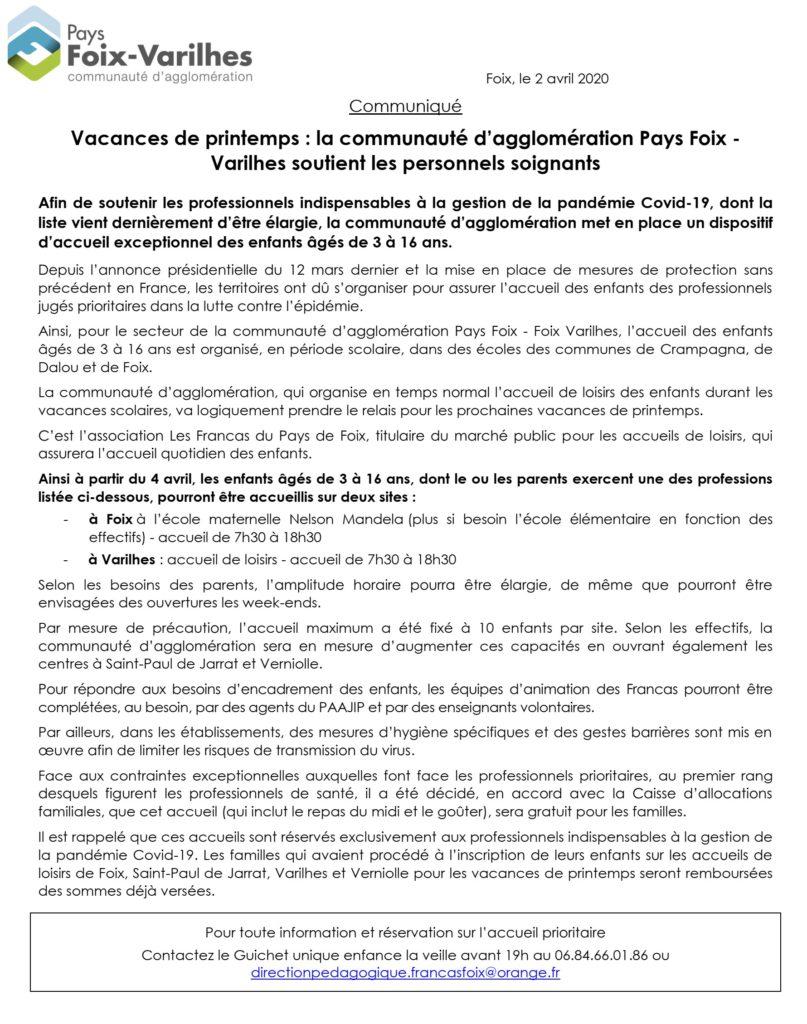 Pays Foix - Varilhes : accueil vacances