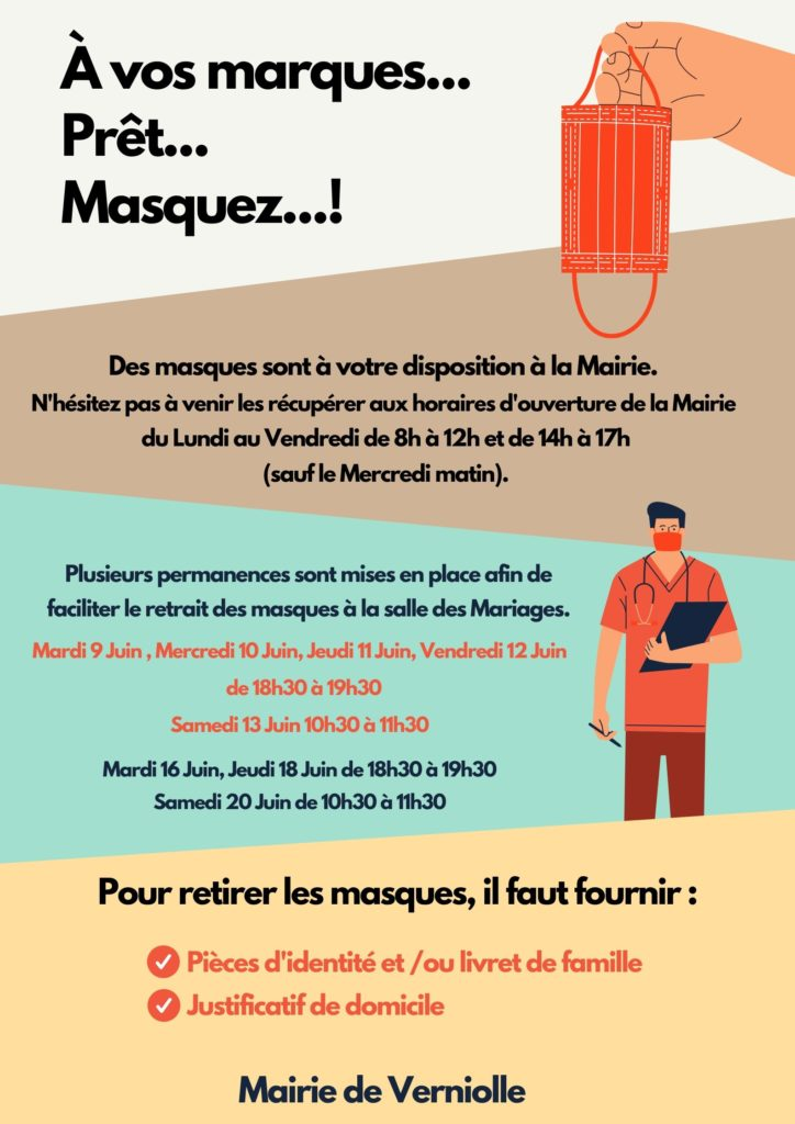Distribution de Masques !